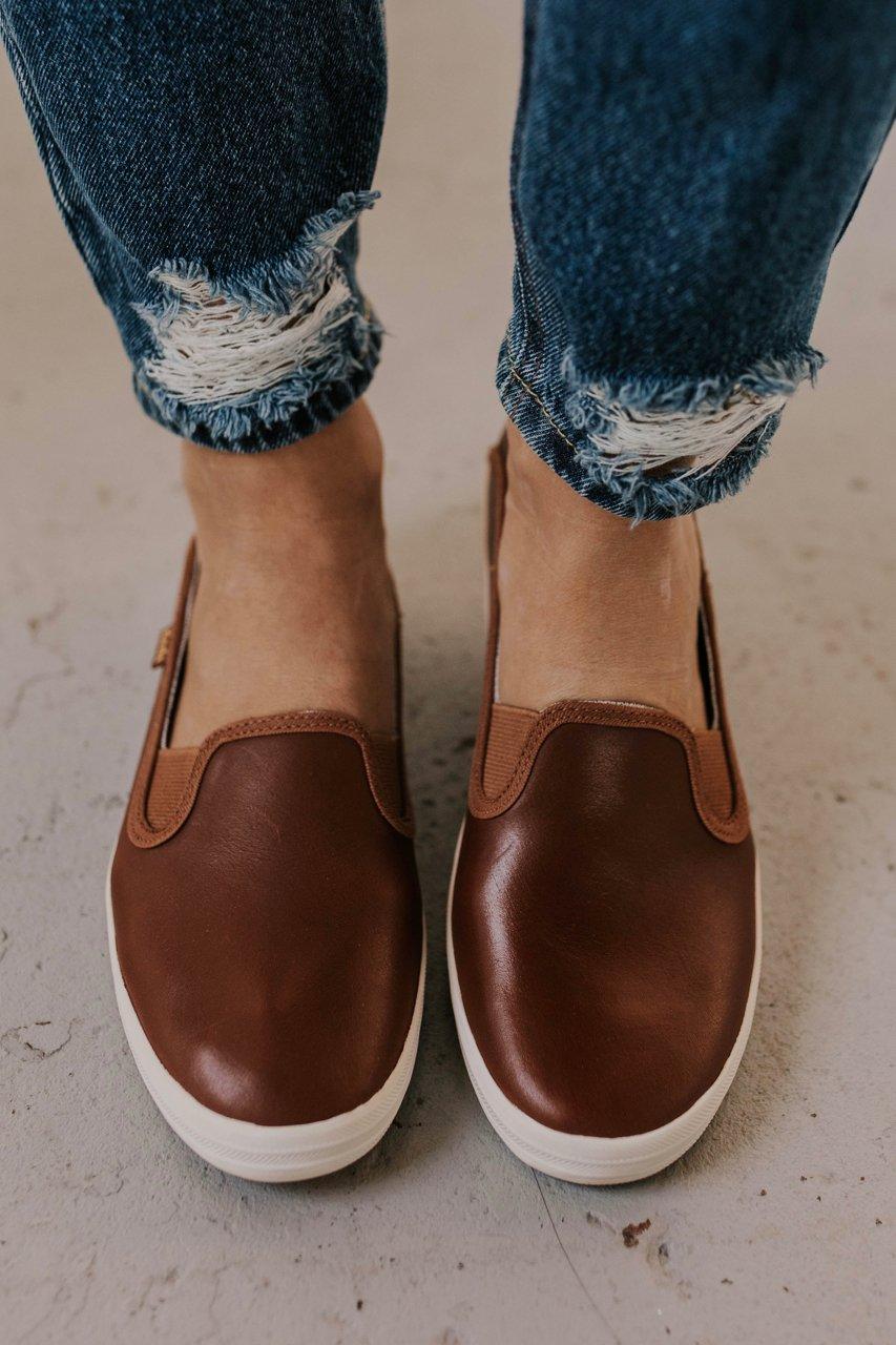 Keds Leather Flats